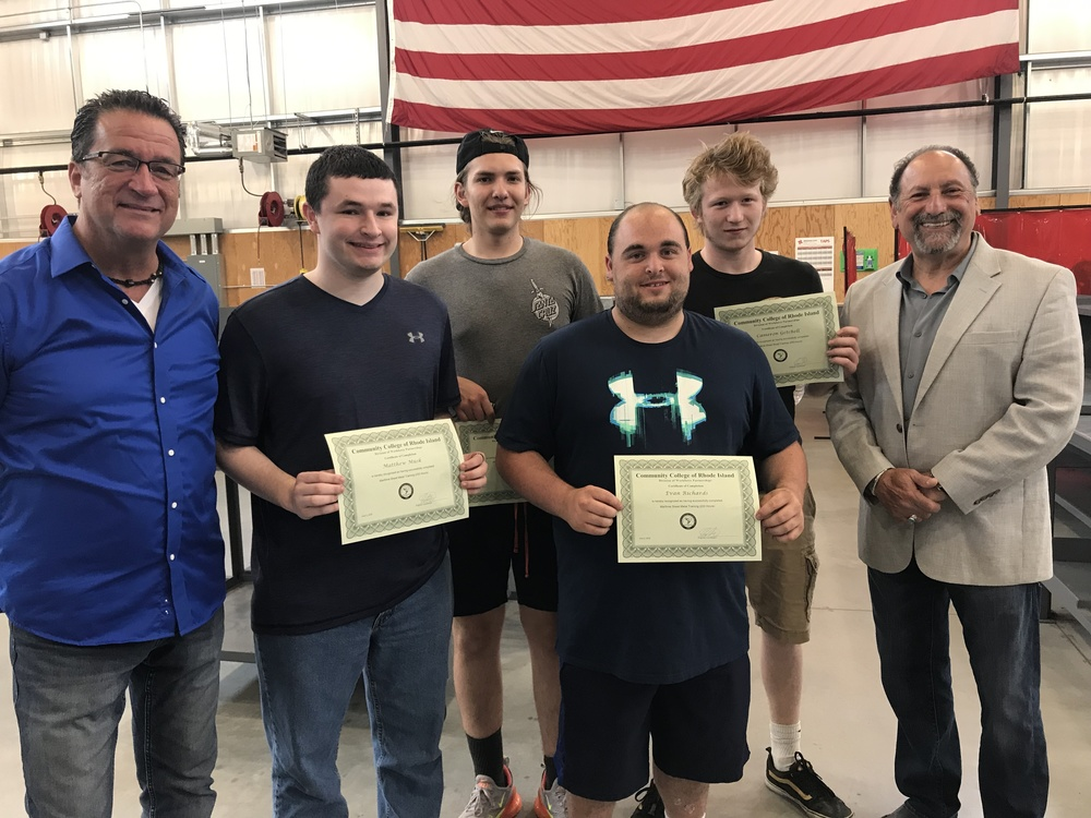 EWG High School Students Graduate Electric Boat Shipbuilding Course