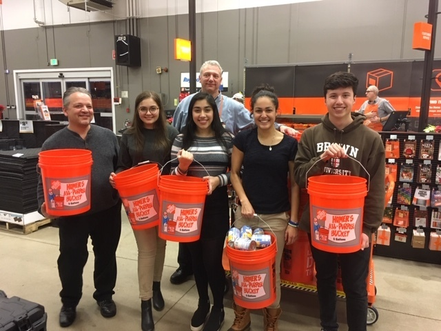 Students council receives help from Home Depot in North Kingstown