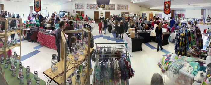Don't miss the fabulous Holiday Bazaar going on today at Metcalf School!!