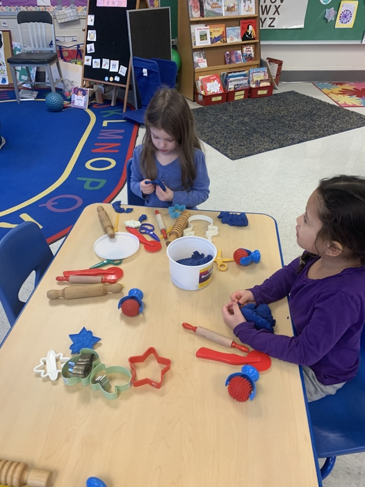 Play doh strengthens hands