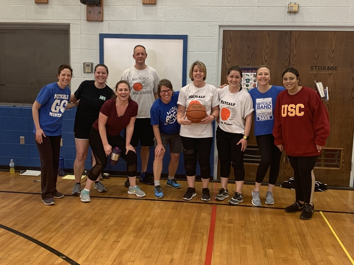 Teachers on top by 4!  Final Score 56-60