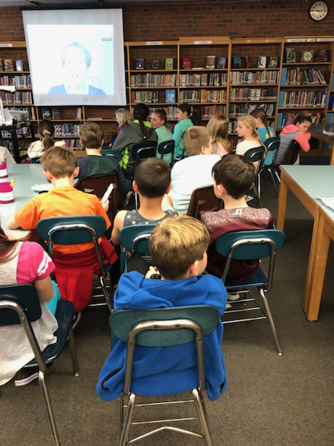 Skype with Cynthia Levinson author of The Youngest Marcher.