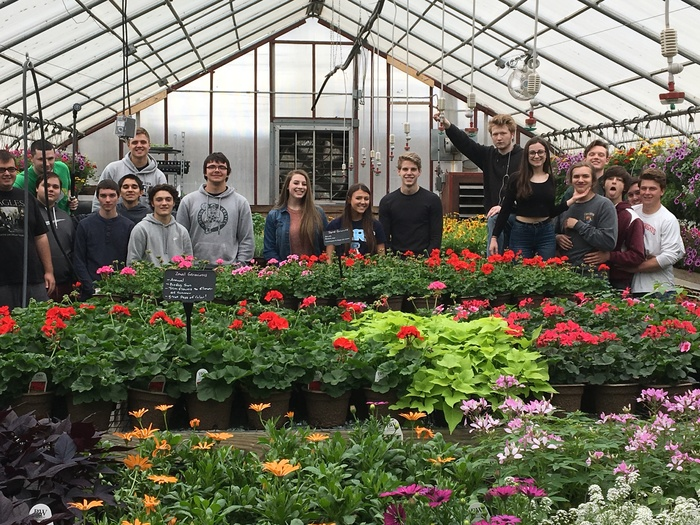 EWG Horticulture students